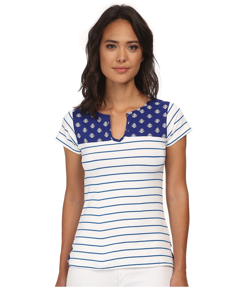 Hatley - Mix Match Tee (Royal Thistles) Women's T Shirt