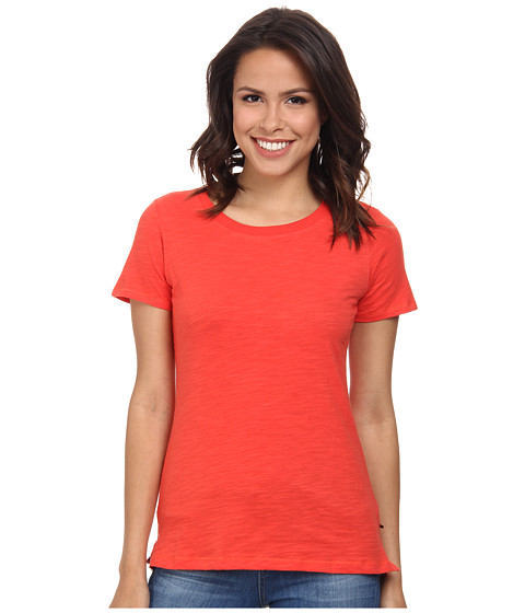 Hatley - Crew Neck Tee (Red Coral) Women's Short Sleeve Pullover