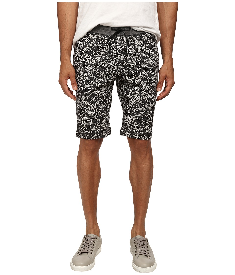 Theory - Moris Derru Terry (Black Multi) Men's Shorts