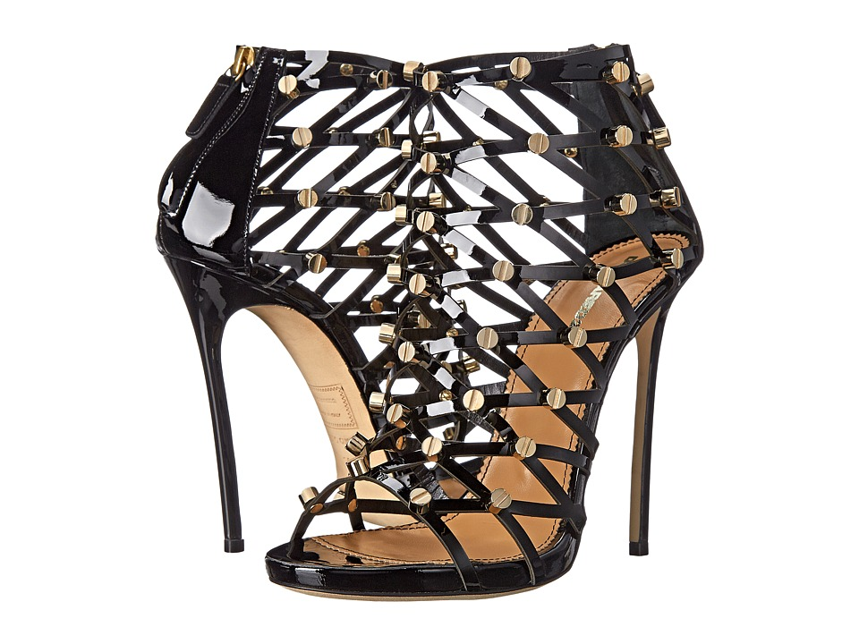 DSQUARED2 - Studded Strappy Heeled Sandal (Nero) Women's Sandals