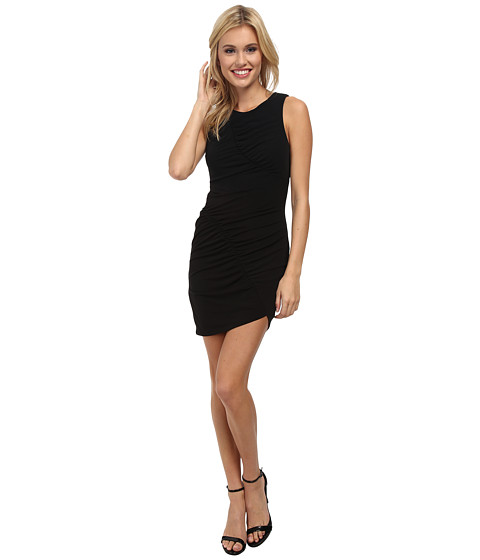 BCBGeneration - Knit Cocktail Dress (Black) Women's Dress