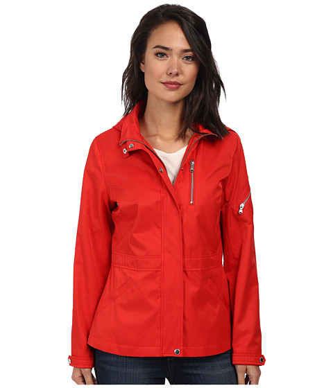 LAUREN by Ralph Lauren - Spring Anorak (Bistro Red) Women's Coat