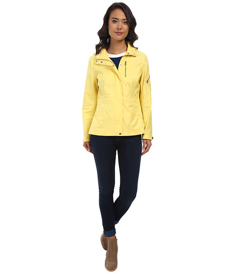 LAUREN by Ralph Lauren - Spring Anorak (Canary Yellow) Women's Coat