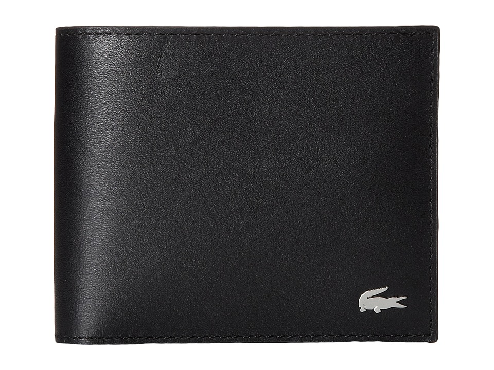 Lacoste - FG Large Billfold (Black) Bill-fold Wallet