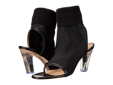 Viktor & Rolf - Open Toe Lycra Bootie (Black) Women's Boots