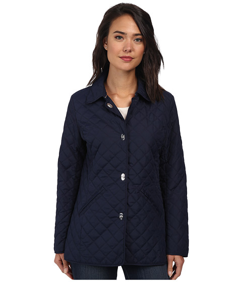LAUREN by Ralph Lauren - Turn Key Quilt (Navy) Women