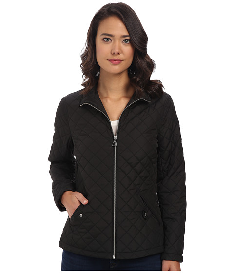 LAUREN by Ralph Lauren - Stir Up Bit Zipper Pull Quilt (Black) Women