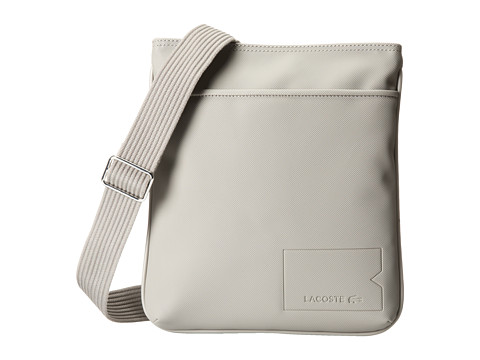 Lacoste - Classic Flat Crossover Bag (Elephant Skin) Cross Body Handbags