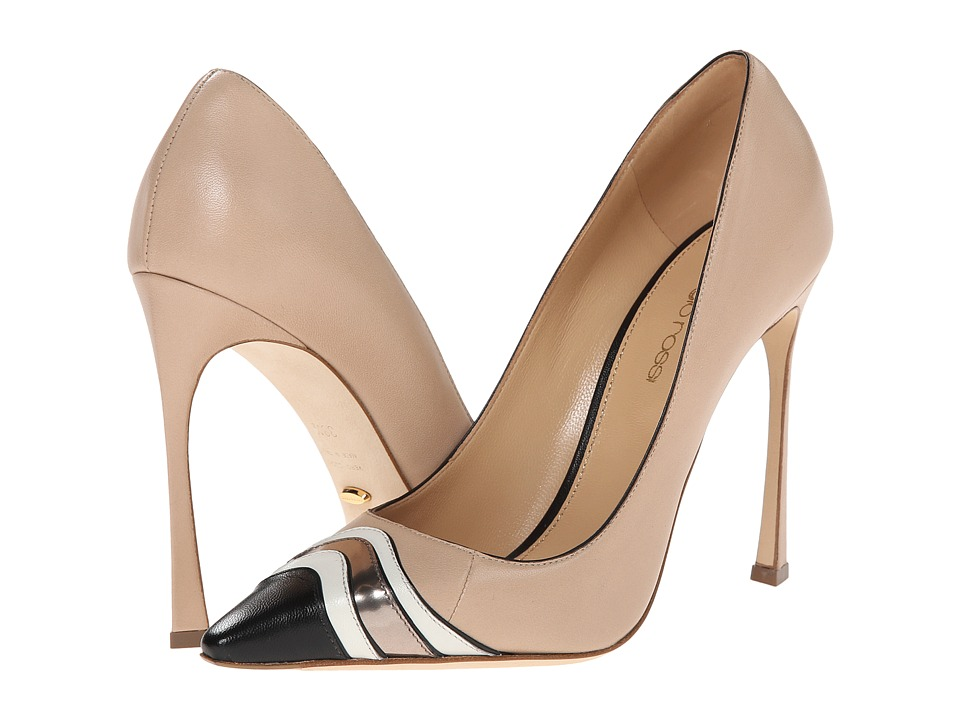 Sergio Rossi - Eve Pump (New Nude) High Heels
