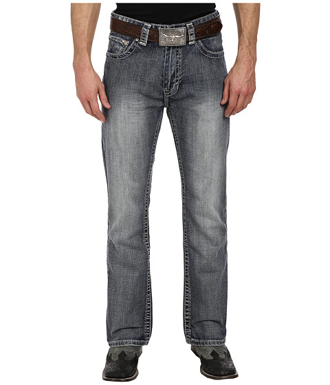 Rock and Roll Cowboy - Double Barrel Relax in Medium Vintage M0D1576 (Medium Vintage) Men's Jeans