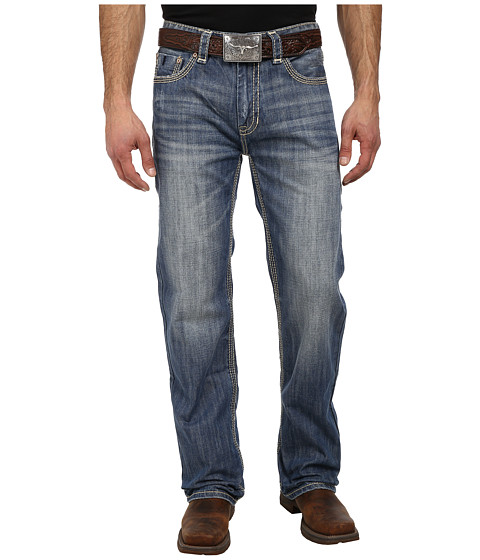 Rock and Roll Cowboy - Double Barrel Relax Straight in Medium Vintage M0S1581 (Medium Vintage) Men