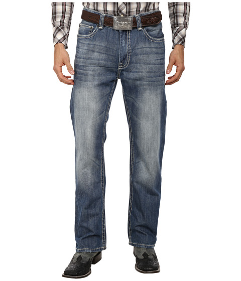 Rock and Roll Cowboy - Double Barrel Relax in Medium Wash M0D1573 (Medium Wash) Men