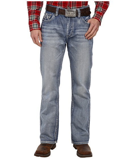 Rock and Roll Cowboy - Double Barrel Relax in Medium Vintage M0D1575 (Medium Vintage) Men's Jeans