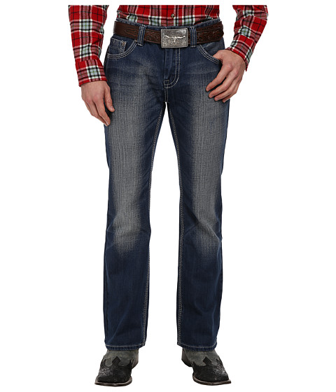 Rock and Roll Cowboy - Pistol Regular Fit in Dark Wash M0P1583 (Dark Wash) Men