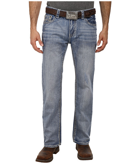 Rock and Roll Cowboy - Pistol Regular Fit in Medium Vintage M0P1585 (Medium Vintage) Men's Jeans