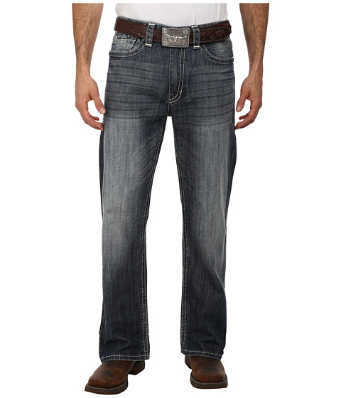 Rock and Roll Cowboy - Cannon Loose Fit in Dark Vintage M0C1589 (Dark Vintage) Men's Jeans