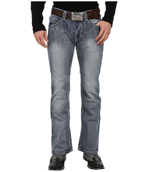 Rock and Roll Cowboy - Pistol Regular Fit in Medium Vintage M0P1584 (Medium Vintage) Men's Jeans