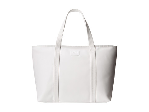 Lacoste - Classic Large Shopping Bag (Bright White) Handbags