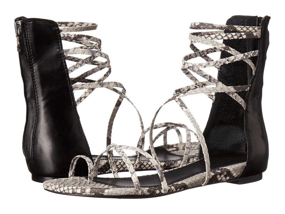 ASH - Octopus (Black/Roccia Diamante/Nappa Wax) Women's Sandals
