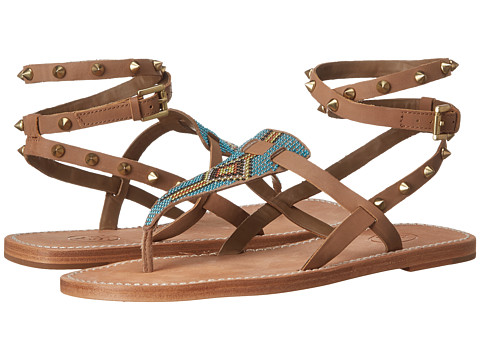 ASH - Pam (Nuts/Taupe Kid Suede/Brasil) Women's Sandals