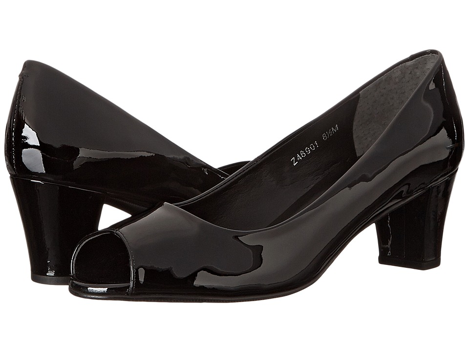 Fitzwell - Brash (Black Patent) Women's 1-2 inch heel Shoes