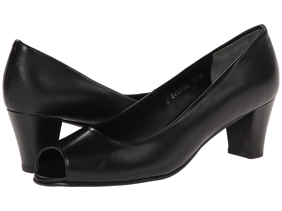 Fitzwell - Brash (Black Kid) Women's 1-2 inch heel Shoes
