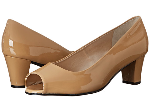 Fitzwell - Brash (Nude Patent) Women's 1-2 inch heel Shoes