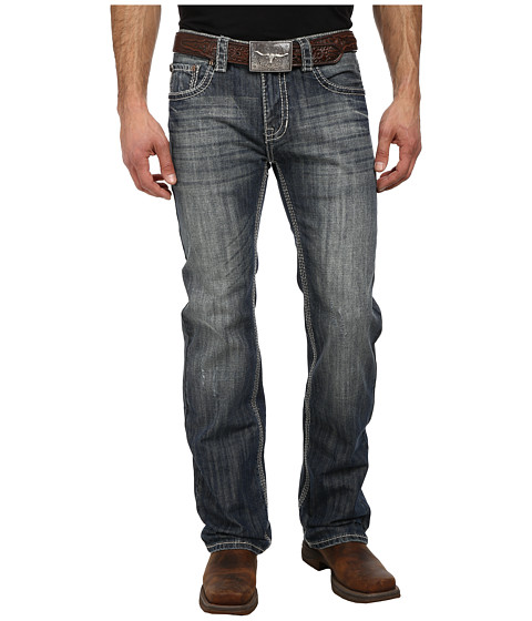 Rock and Roll Cowboy - Pistol Straight Leg in Dark Wash M1P1588 (Dark Wash) Men's Jeans