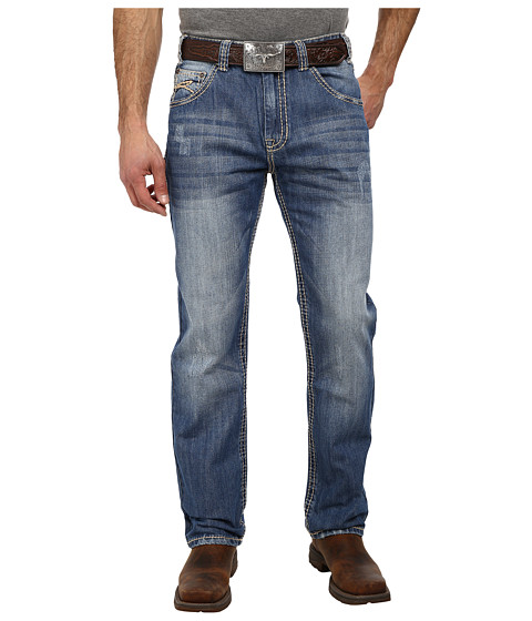 Rock and Roll Cowboy - Competition Fit Leg Jean in Medium Vintage M0T1593 (Medium Vintage) Men