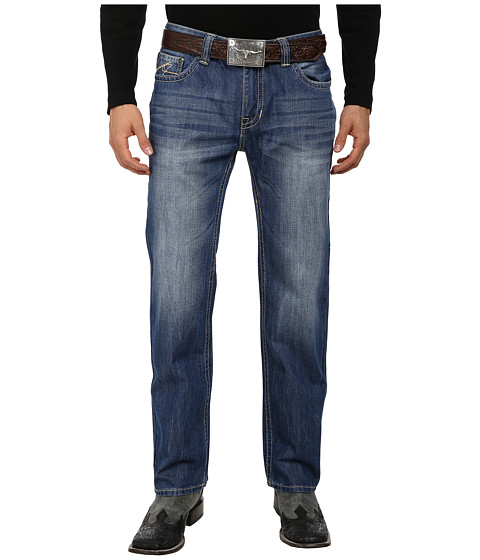 Rock and Roll Cowboy - Pistol Straight Leg in Medium Vintage M1P1587 (Medium Vintage) Men's Jeans