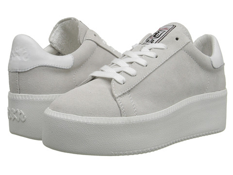 ASH - Cult (Off White/White/White Calf Suede/Nappa Wax) Women's Lace up casual Shoes