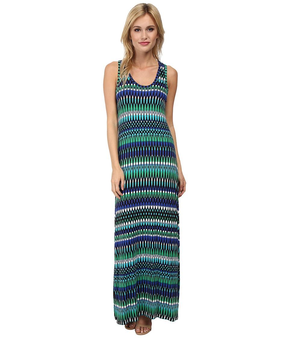 Calvin Klein - Rayon Span Maxi CD4NE3N4 (Atlantis Multi) Women's Dress