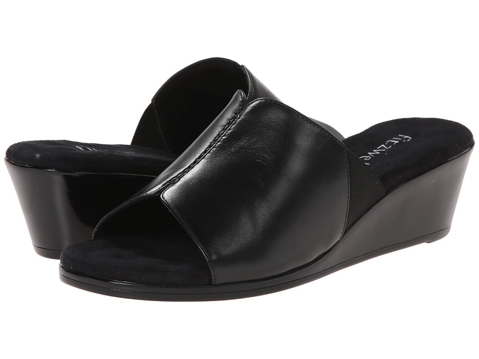 Fitzwell - Nemo (Black) Women's Wedge Shoes