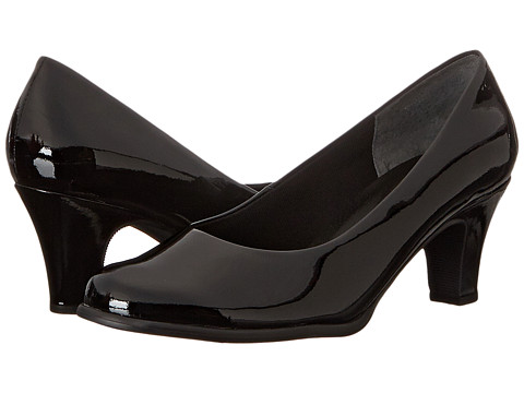 Fitzwell - Commute (Black Patent) Women's Shoes