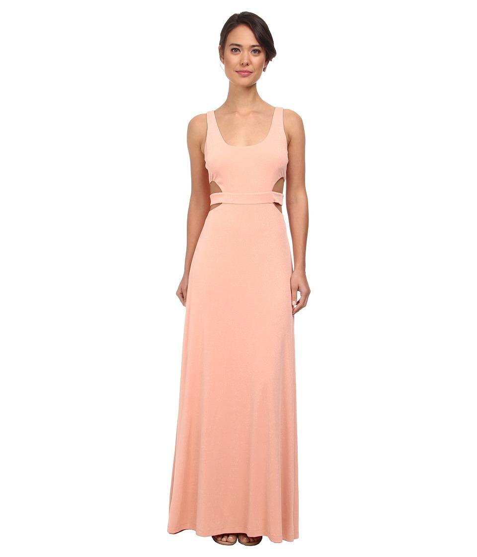 Calvin Klein Coutout Gown CD5B1846 (Peach) Women