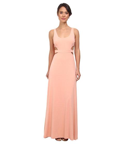 Calvin Klein - Coutout Gown CD5B1846 (Peach) Women's Dress