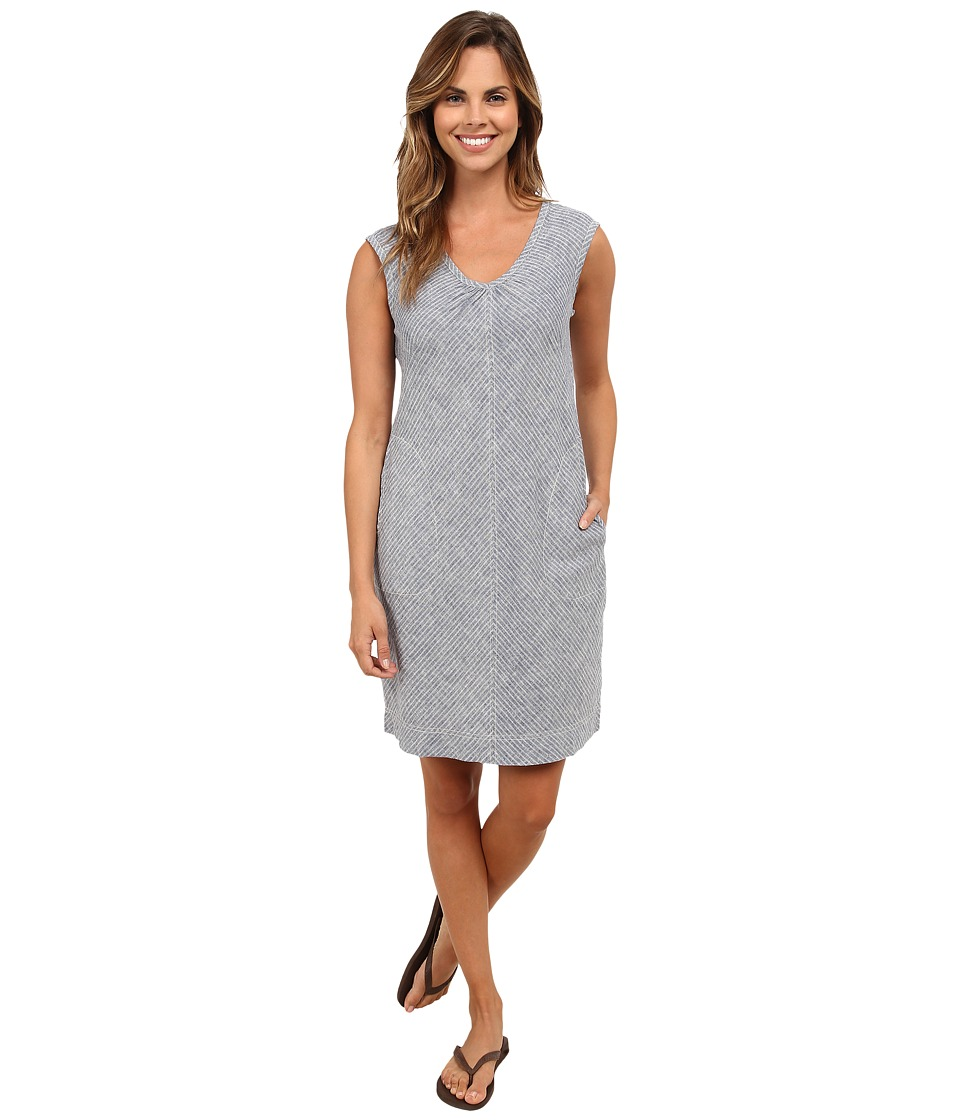 Royal Robbins - Trolley Stripe Dress (Night Sky) Women's Dress