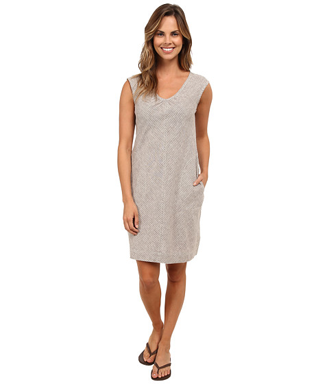 Royal Robbins - Trolley Stripe Dress (Taupe) Women