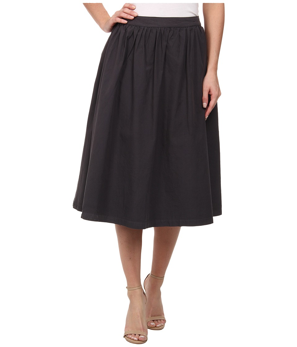 Michael Stars - Cotton Poplin A-Line Skirt (Oxide) Women