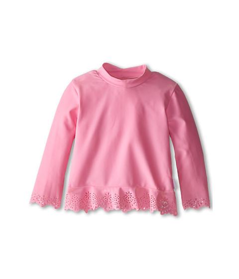 Seafolly Kids - Flutter Bye L/S Rashie (Infant/Toddler/Little Kids) (Blush Pink) Girl