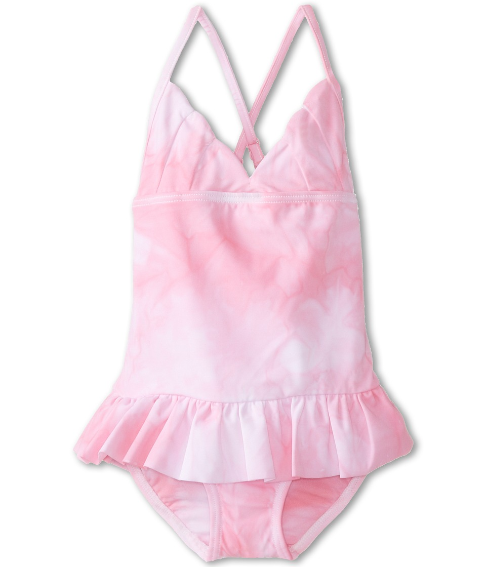 Seafolly Kids - La Mermaid Halter Tank (Toddler/Little Kids) (Blush Pink Haze) Girl's Swimsuits One Piece