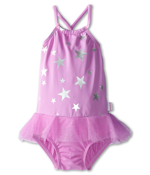 Seafolly Kids - La Mermaid Apron Tank (Infant/Toddler/Little Kids) (Lilac) Girl's Swimsuits One Piece