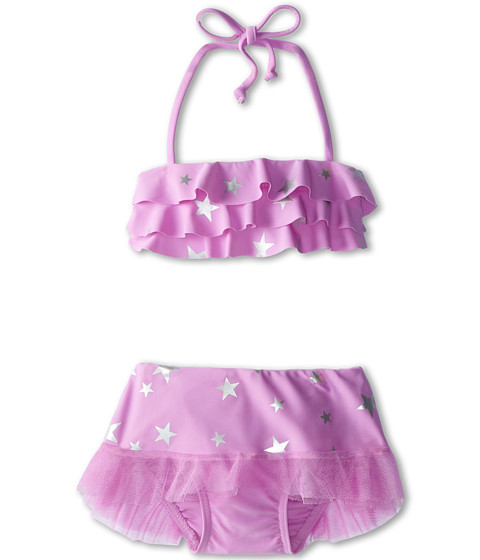 Seafolly Kids - La Mermaid Skirtini Set (Infant/Toddler/Little Kids) (Lilac) Girl