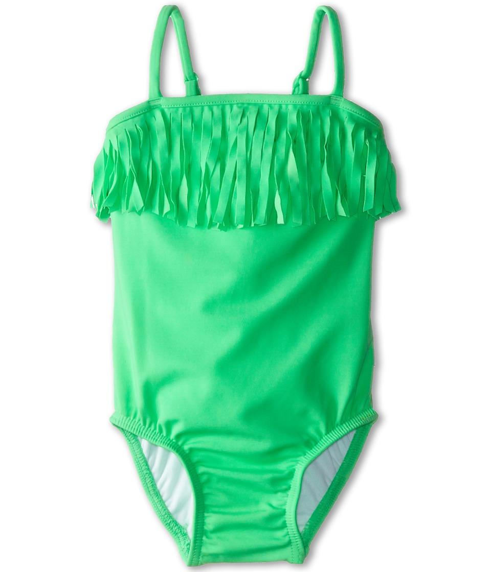 Seafolly Kids - Tutti Cutie Tube Tank (Infant/Toddler/Little Kids) (Green Apple) Girl's Swimsuits One Piece