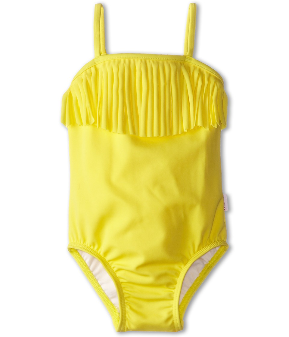 Seafolly Kids - Tutti Cutie Tube Tank (Infant/Toddler/Little Kids) (Lemon Drop) Girl's Swimsuits One Piece