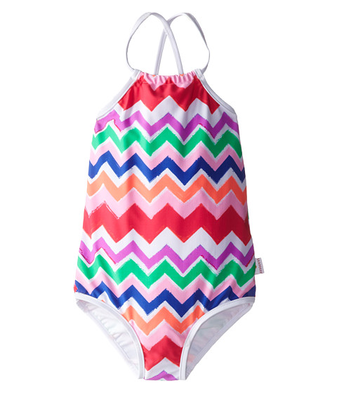 Seafolly Kids - Go-Go-Girl Tank (Infant/Toddler/Little Kids) (Multi) Girl's Swimsuits One Piece