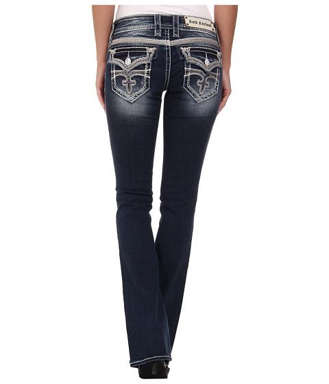 Rock Revival - Celine B75 Bootcut in Dark Indigo (Dark Indigo) Women's Jeans