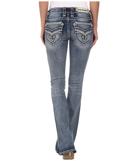 Rock Revival - Neela B201 Bootcut in Light Indigo (Light Indigo) Women's Jeans