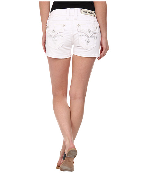 Rock Revival - Celine H70 Short in White (White) Women