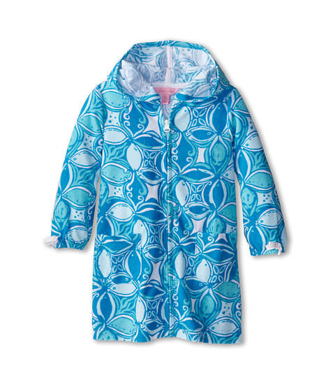 Lilly Pulitzer Kids - Tilda Cover-Up (Toddler/Little Kids/Big Kids) (Ariel Blue What A Racquet) Girl's Swimwear